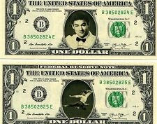 Bruce Lee US$1 Bank Notes Set of 4 New Photos from His Movies