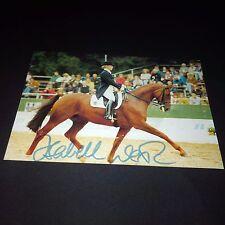 ISABELL WERTH 6 x Olympiasiegerin Dressur signed 10x15 Autogrammkarte !