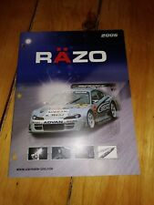2006 Carmate RAZO Catalog Brochure Shift Knobs Pedals Gran Turismo 4 JDM Japan