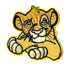 Simba - The Lion King - Disney - Embroidered Iron On Applique Patch