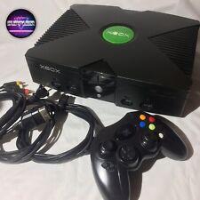 Microsoft Xbox Classic Black Console Mod With Gta San Andreas