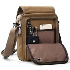 XINCADA Mens Bag Messenger Bag Canvas Shoulder Bags Travel Bag Man Purse Cros...