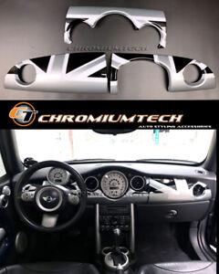MK1 MINI Cooper/S/ONE JCW R50 R52 R53 Black Union Jack Dashboard Cover for RHD