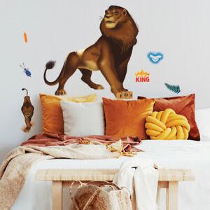 Roommates - König der Löwen Simba - Wandtattoo Wandsticker Wandilder