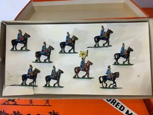 SAE 30mm AUSTRIAN DRAGOONS Lead Toy Soldier