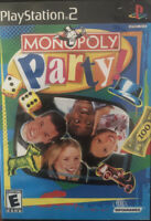 💽Monopoly Party (Sony PlayStation 2, 2002) Tested Original Owner Complete💽