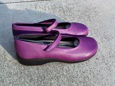 NIB Arcopedico Women's Scala P7 Purple 7151 Mary Jane Flats Shoes EU 40 / 9 -9.5