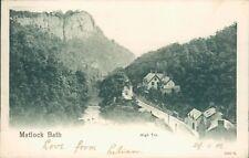 Matlock bath; High tor; 1902; Peacock