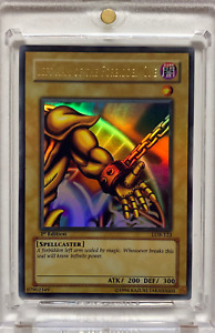 Yu-Gi-Oh! Left Arm Of The Forbidden One LOB-123 1st Edition Asian English