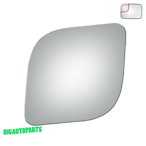 Upper Towing Blind-Spot Mirror Glass Replacement for 94-09 Dodge Ram Driver Side