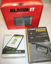 CompuStar 2-Way Alarm system w/ Rd-3400 Drone Mobile Cell Phone iPhone Android