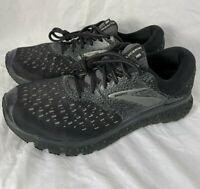 Brooks Mens Glycerin 16 Running Sneaker 1102891D071 Black Size US 10.5