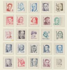 U.S. 1986-94 Great Americans, 24 items 1-75 cents, mNH Fine