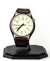 Mens's Fossil Watch, Barstow Brown Leather FS5510, New