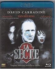 BLU-RAY LA SECTE david carradine VAN HELSING