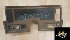 1977 Chevy Nova Dash Bezel, Original GM Brown