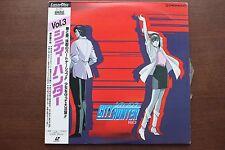 "LD Laserdisc ""CITY HUNTER Vol.3"" Episode9-12 w/Obi Japan Anime PILA-1093 F/S"