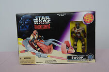 Star Wars Swoop Bike Shadows of the Empire Vehicle and Figure Kenner