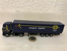 962 1:87 ALBEDO HO RENAULT Premium ASG Transport Logistics dblau Schweden LKW SZ