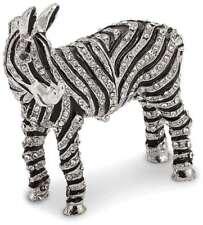 Bejeweled Voll Kristall Zebra Schmuckkästchen