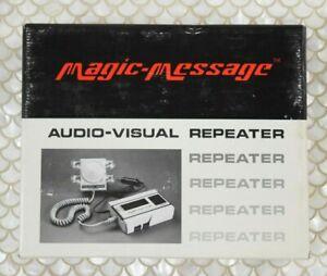 Vintage Magic-Message REI Audio Visual Repeater AVR-2 Original Box *Unopened