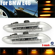 Dynamic LED Side Marker Turn Signal Light For BMW E46 E90 E91 E92 E93 E60 E61 JO
