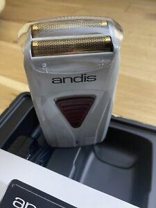 Andis Foil Lithium Titanium Shaver New In Box. Uk Seller Men's Christmas Gift