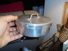 Ancienne Boite Auto-Clave Aluminium Stérilisation accessoire Médecin Laboratoire
