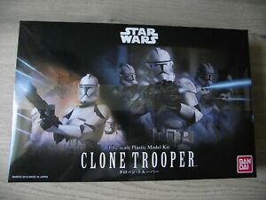 Bandai Star Wars Clone Trooper 1/12 Model Kit