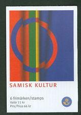 SWEDEN (H573) Scott 2571a, Laplander Culture booklet, VF