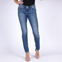 Levi's 711 Skinny Rustic Woodland Damen blau Jeans DE 36 W29 L32