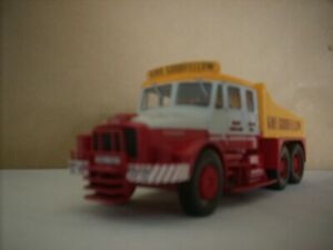 CORGI HEAVY HAULAGE-SCAMMELL CONTRACTOR  6X4 BALLAST TRUCK FOR SPARES OR REPAIR