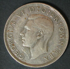 Great Britain 1/2 Crown 1940,.500 Silver,VF