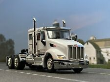 "1/64 DCP WHITE PETERBILT 579 W/ 44"" SLEEPER"