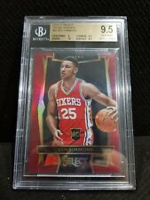 SELECT BEN SIMMONS RED MAROON PRIZM REFRACTOR ROOKIE RC 69/175 MVP RARE!