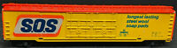 Tyco HO 62' Box Car SOS Soap Pads Rd# IC 359010 Illinois Central.vintage, yellow