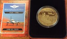 1998  $5 royal flying doctor service of Australia proof coin.
