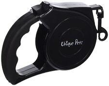 Unique Petz Pet Retractable Leash, Black