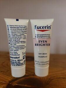 Eucerin Even Brighter Day Cream 10x 5ml 50ml Total