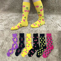 Men Unisex Personality  Socks Winter Cotton Tube Socks Creative Print Sox