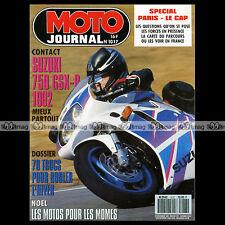 MOTO JOURNAL N°1017 SUZUKI GSX-R 750 1992 HONDA QR 50 XR 80 R YAMAHA PW 1991