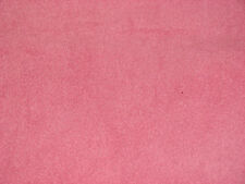 Pink Solid Color Anti-Pill Fleece Fabric  by the Yard   BTY