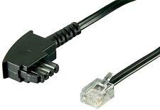 DSL Splitter Kabel Anschlusskabel TAE-F Stecker auf 6P2C DEC Westernstecker 10m