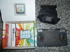 """Jeu Nintendo DS """"Guitar Band Hero"""" complet boite, accessoires et notice"""