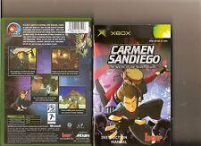 CARMEN SANDIEGO SECRET OF THE STOLEN DRUMS XBOX / X BOX