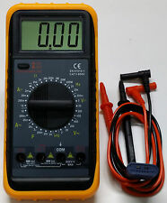 Tester, Multimetro digital, tension hasta 750v AC y 1000v DC, voltimetro GROW