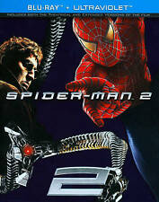 Spider-Man 2 (Blu-ray Disc, 2012, Expired Ultraviolet) Tobey Maguire!