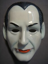 UNIVERSAL CLASSIC MONSTERS DRACULA HALLOWEEN MASK PVC VAMPIRE MONSTER