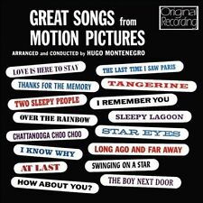 Great Songs from Motion Pictures by Hugo Montenegro (CD, Jan-2012, Hallmark...