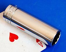 """SK Tools 1/2"""" Drive SAE 3/4"""" Deep 12-point SuperKrome Chrome Socket Wrench NEW"""